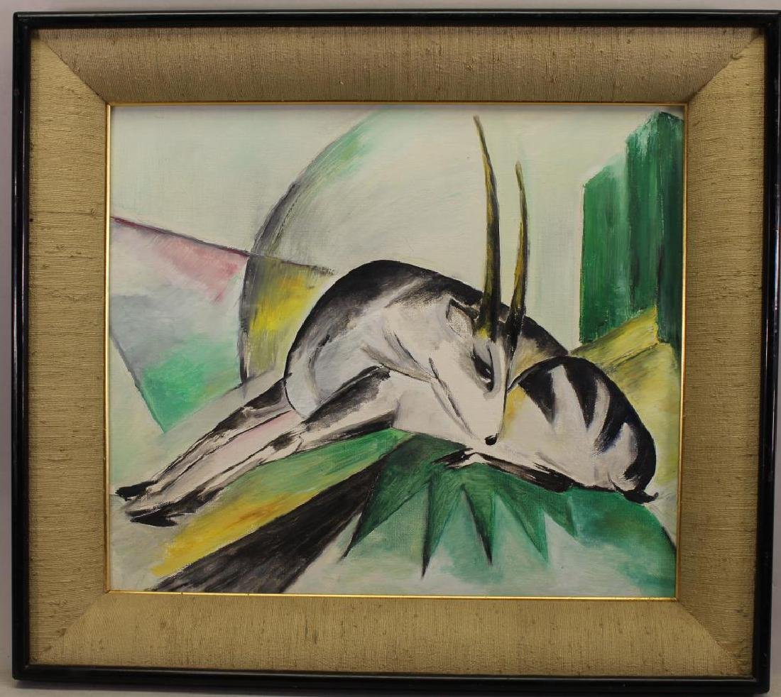 After Franz Marc (German, 1880-1916) The Antelope