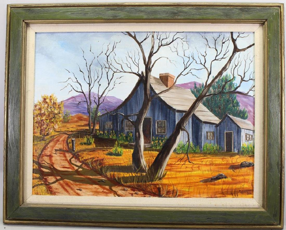 Roderick, '70 Painting of a Farmhouse in Landscape