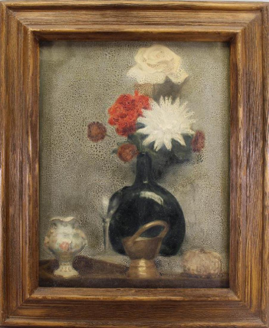 Early 20th C. Wildflowers in a Vase