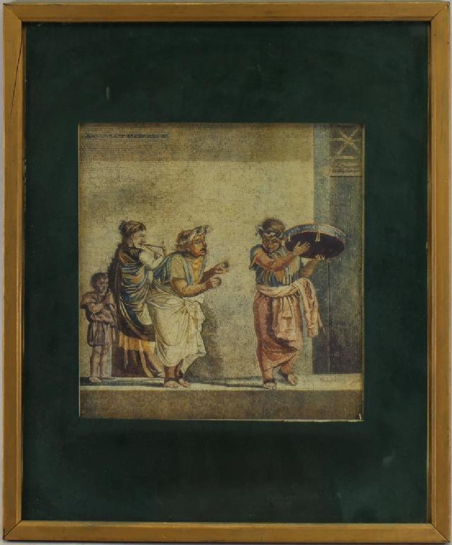 Antique Pompeiian Figural Print