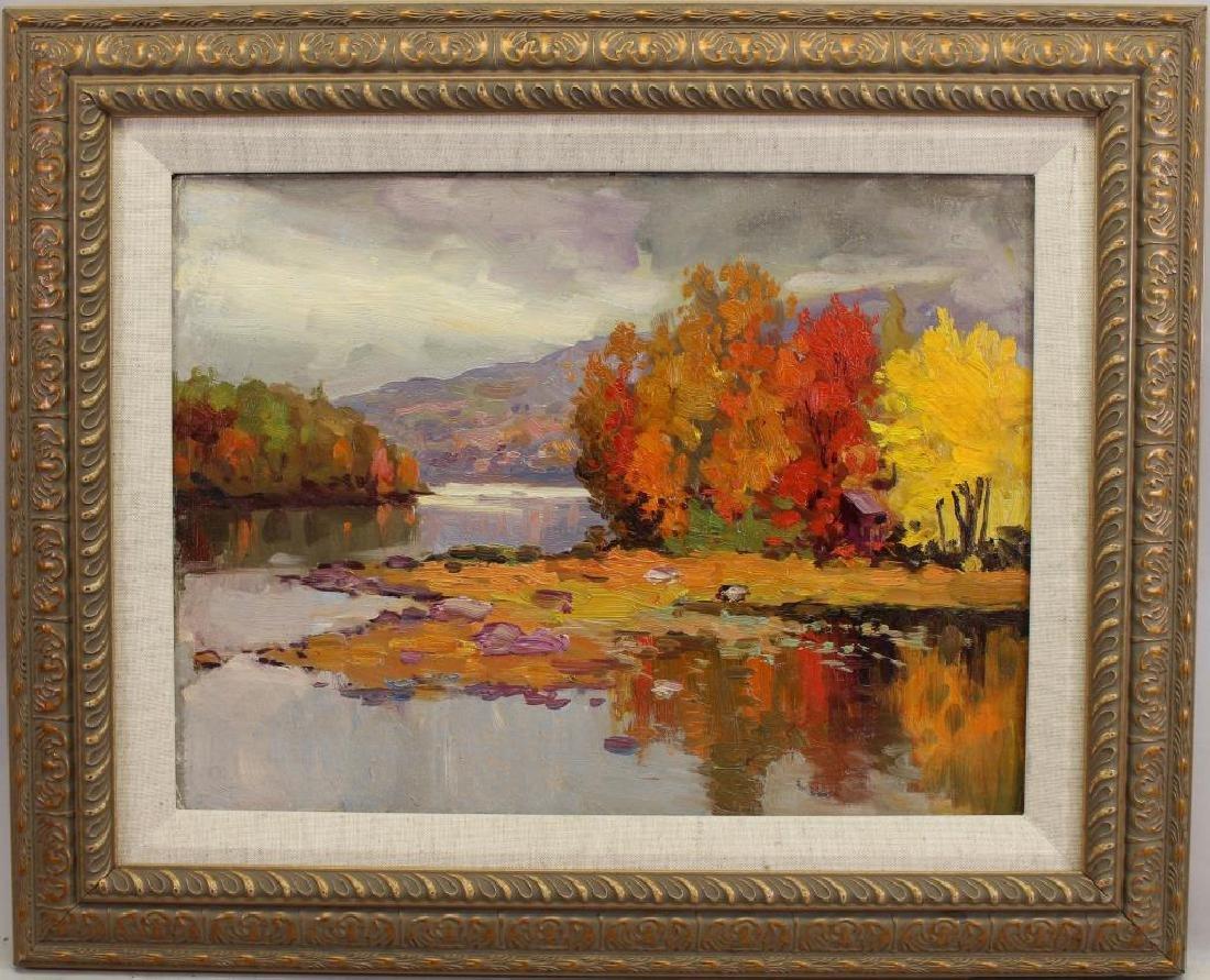 American School, New England Autumnal Scene