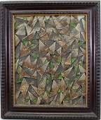 Vintage, Mixed Media Abstract Composition, Signed