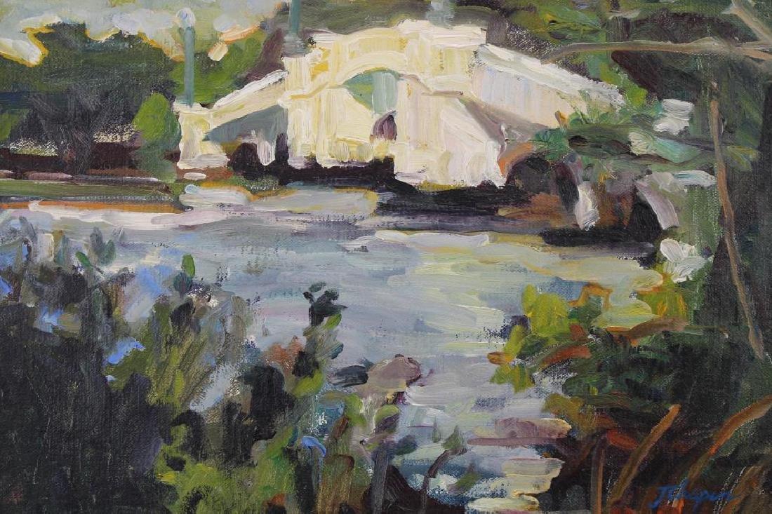 American School 20th C. River landscape - 2