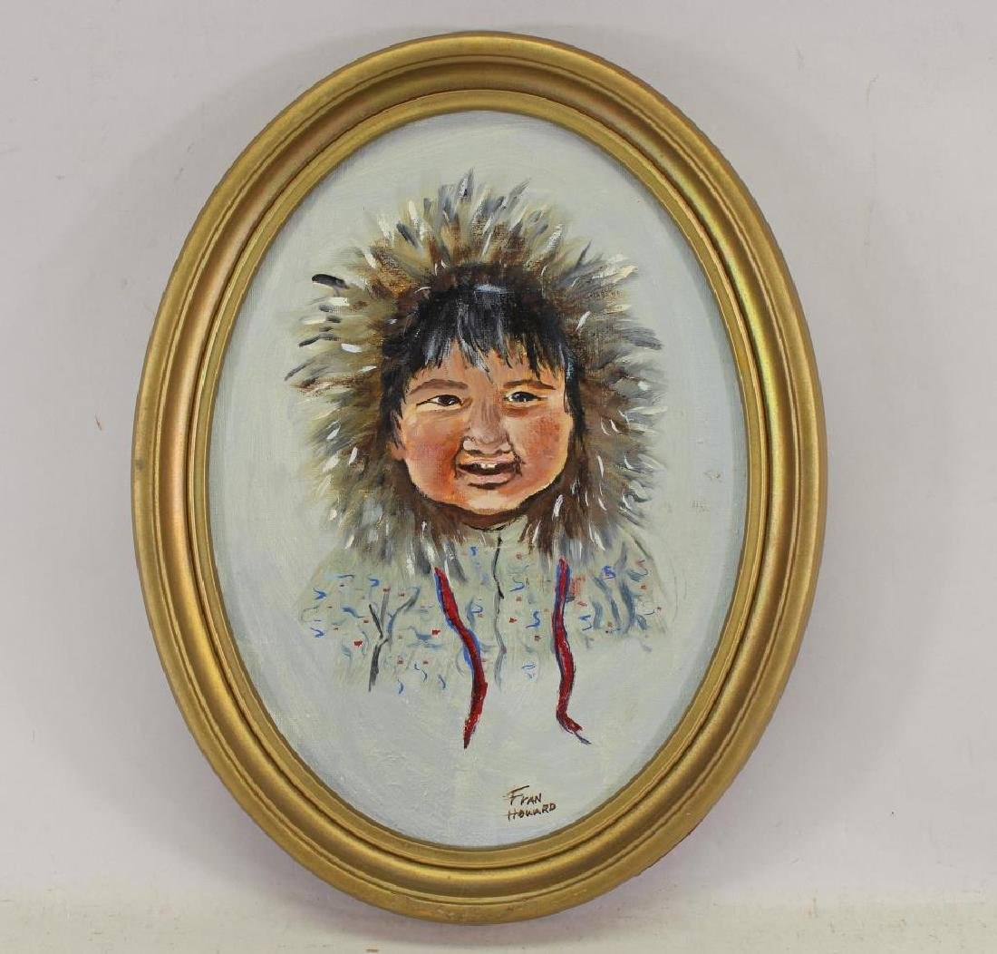 Fran Howard, Portrait of an Eskimo Child