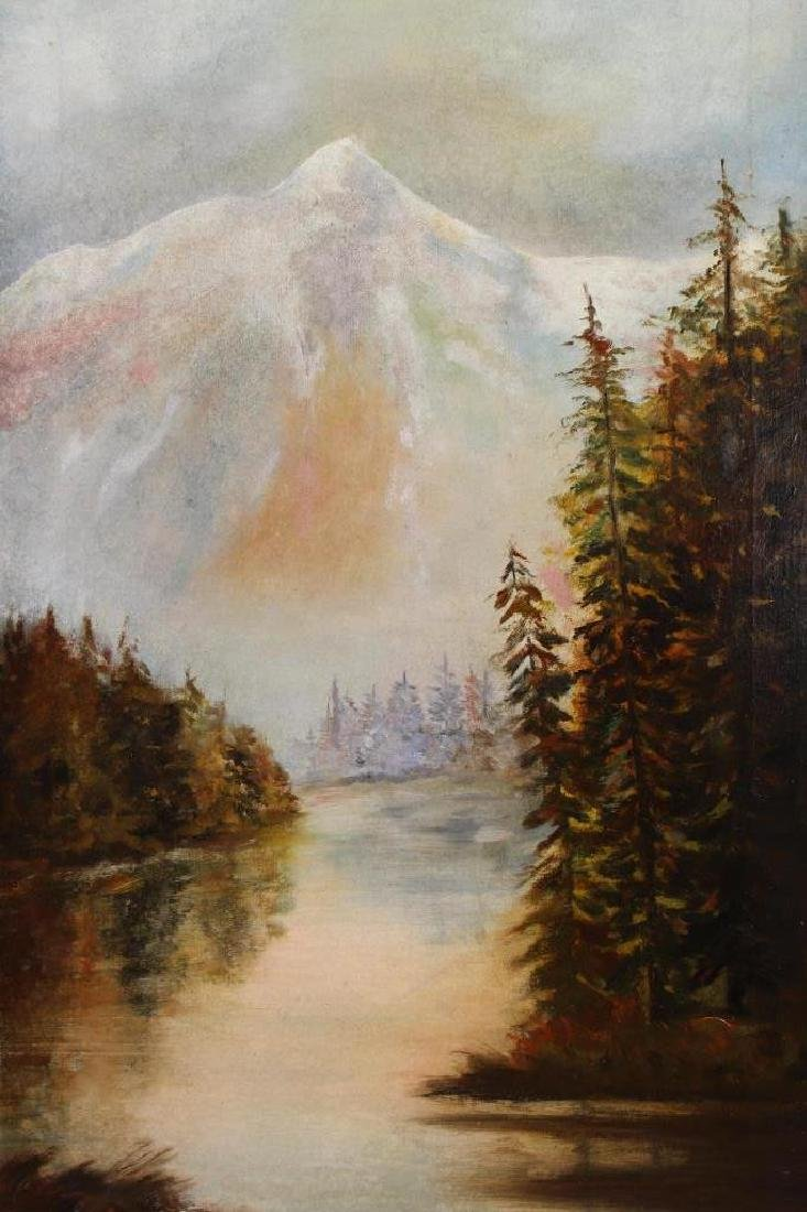 American School, Mountainous River Landscape