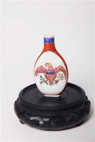 Chinese Export Snuff bottle