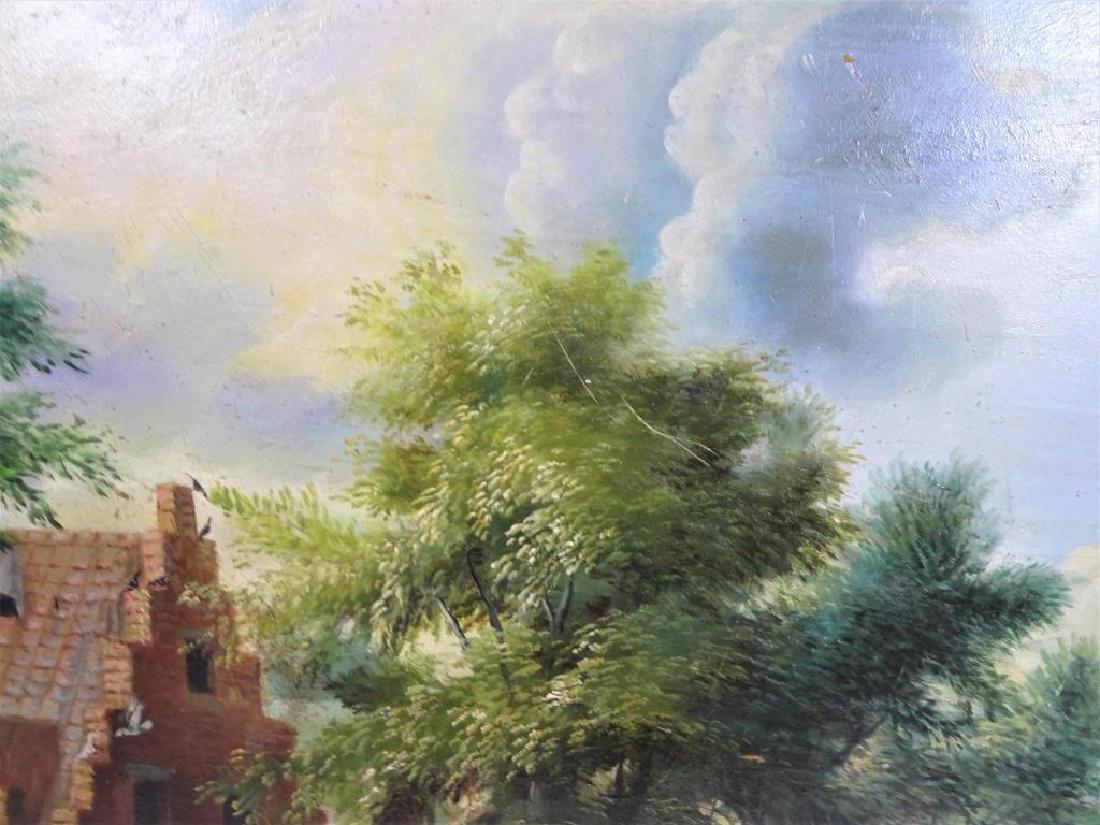 Dutch Landscape Oil on Copper / Gilt Framed - 3