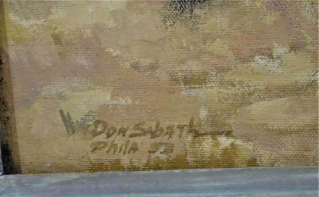 Signed, Don Sabath (20th C) - 2