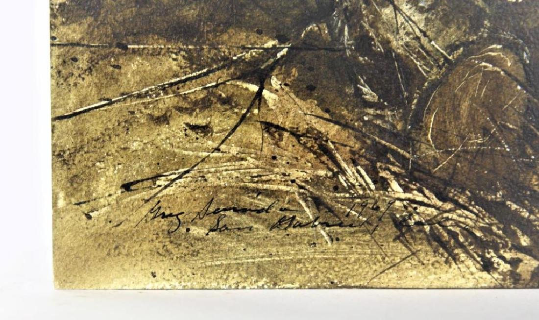 Signed, Gregory Sumida  (born 1948) - 2