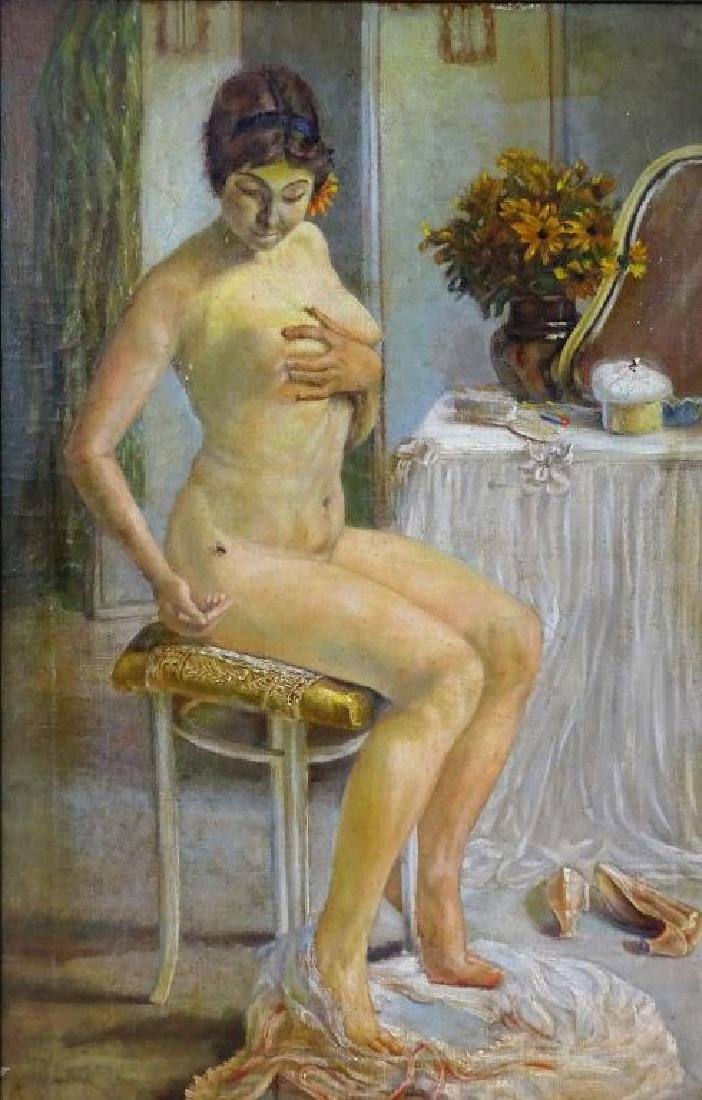 Nude portrait, Oil on canvas - 2