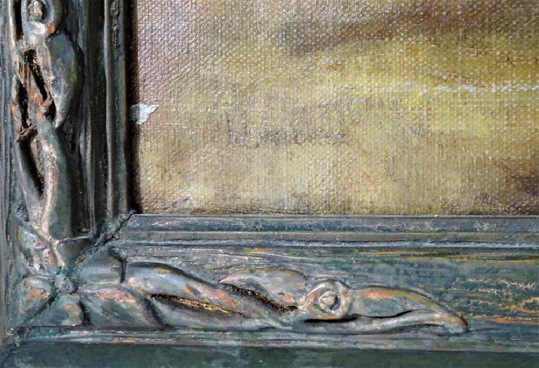 Nude portrait, Oil on canvas - 3