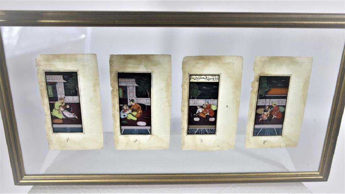 Four Signed, Early Persian Erotic Scenes - 2