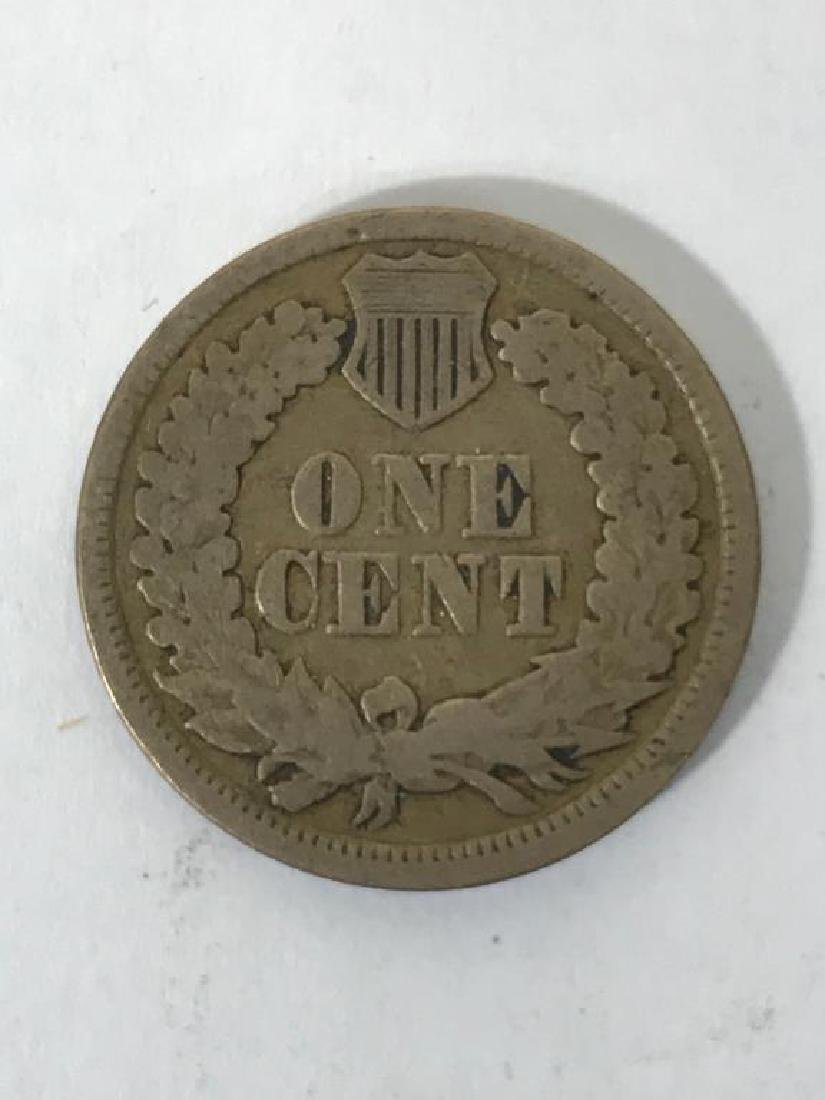 Seven (7) U.S. Civil War Indian Head Pennies - 10