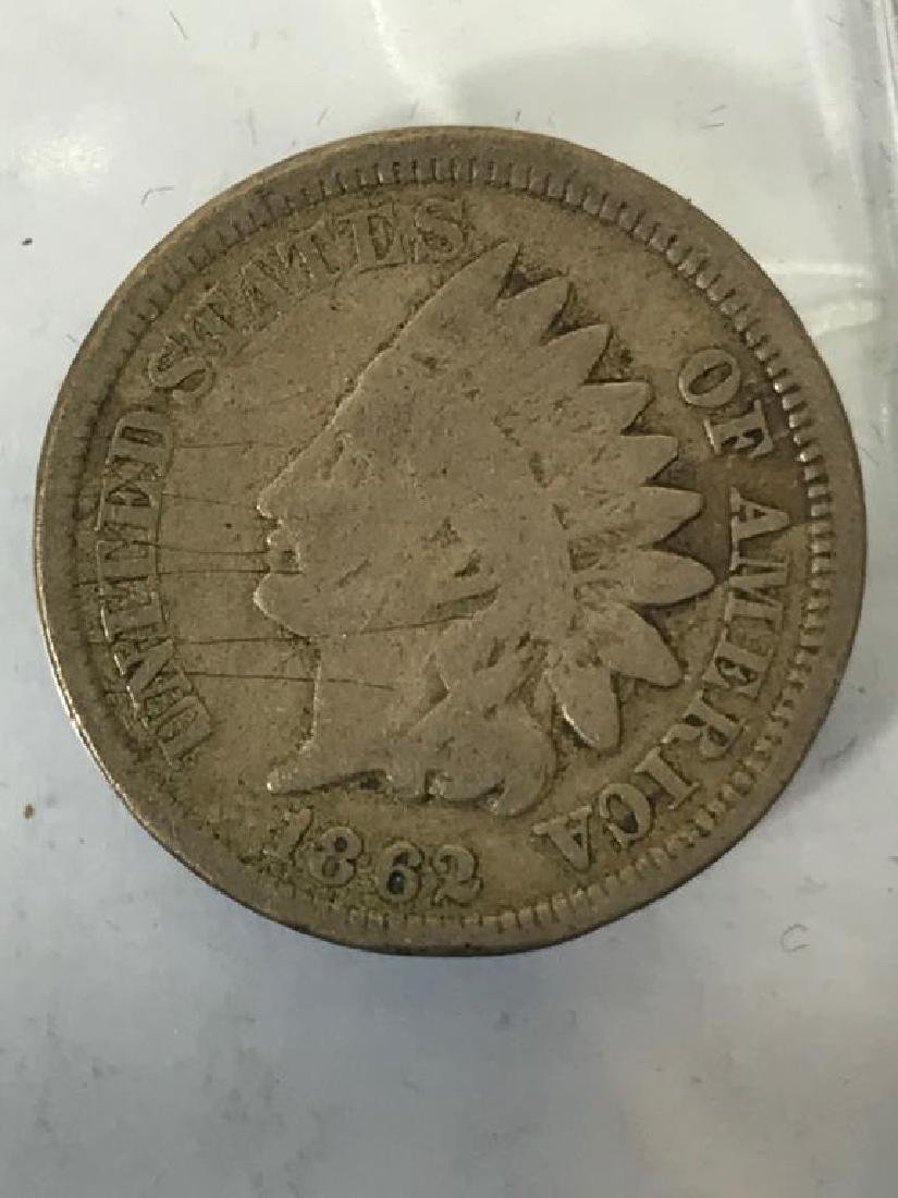 Seven (7) U.S. Civil War Indian Head Pennies