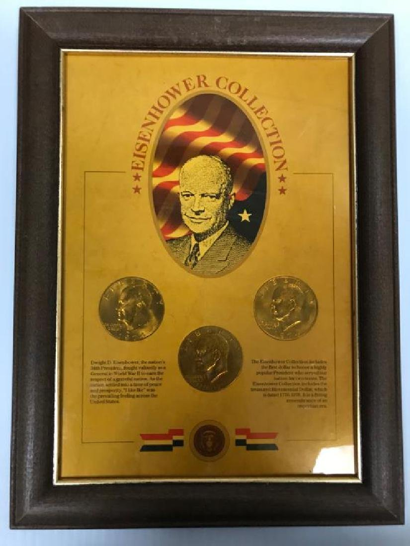 Collection of U.S. Coins in Display Cases - 3
