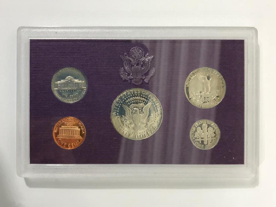 Collection of U.S. Coins in Display Cases - 5