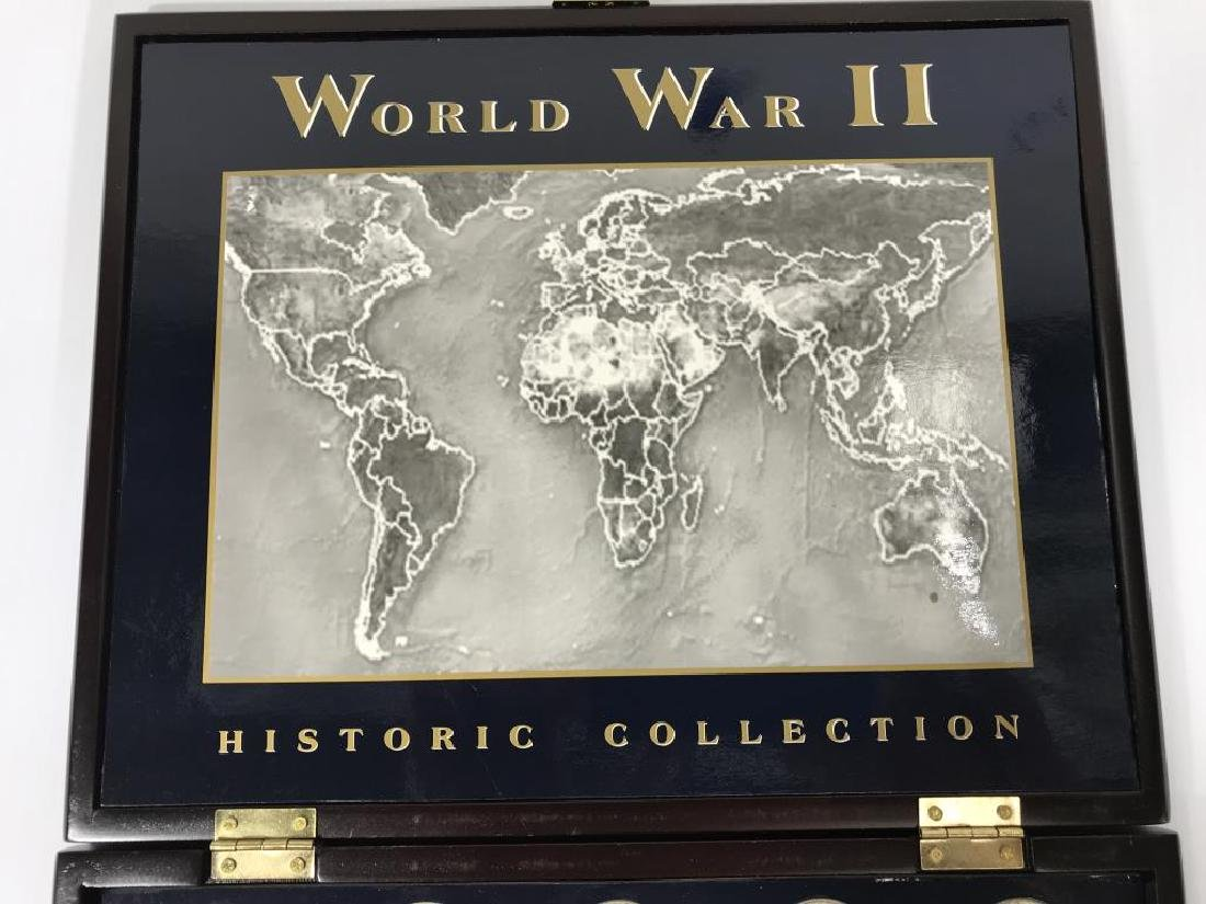 Collection of U.S. Coins in Display Cases - 9