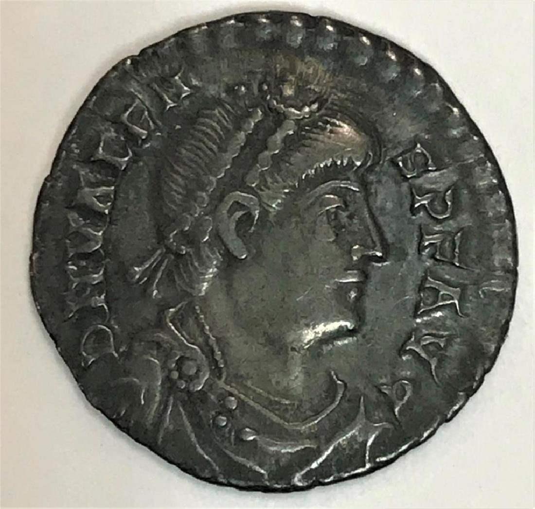 Ancient Roman Coin Depicting Valens