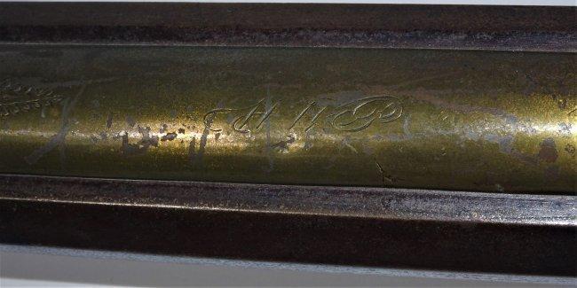 Rare Pennsylvania Rifle by Jacob Kunz 1830's - 2
