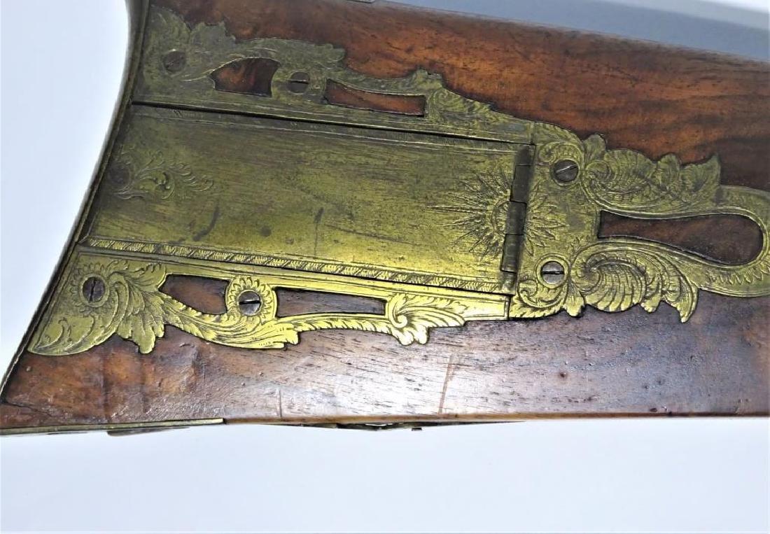 Rare Pennsylvania Rifle by Jacob Kunz 1830's - 3