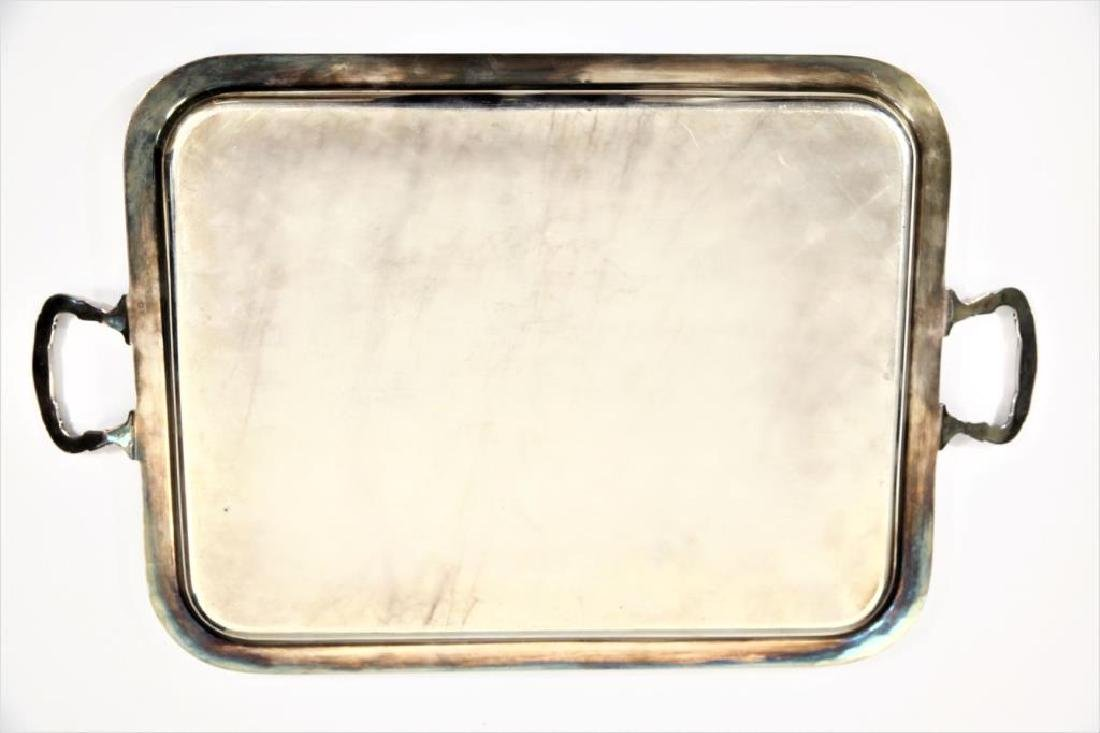 Sterling Silver Tray Twin Handled 59 Troy oz - 2