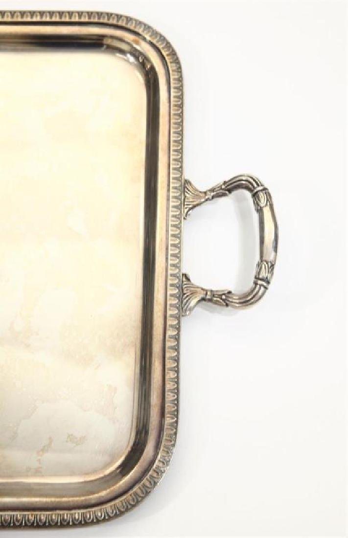 Sterling Silver Tray Twin Handled 59 Troy oz - 3