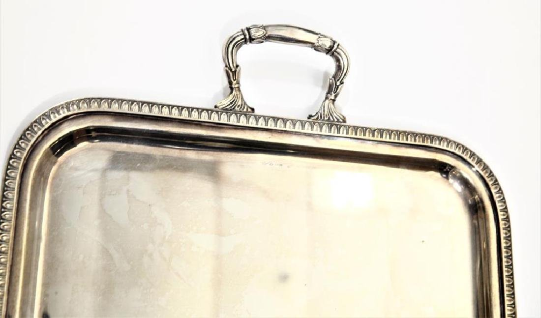Sterling Silver Tray Twin Handled 59 Troy oz - 4