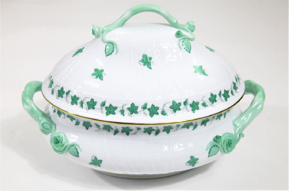 Herend Hungary Porcelain, 12 pieces with Tureen