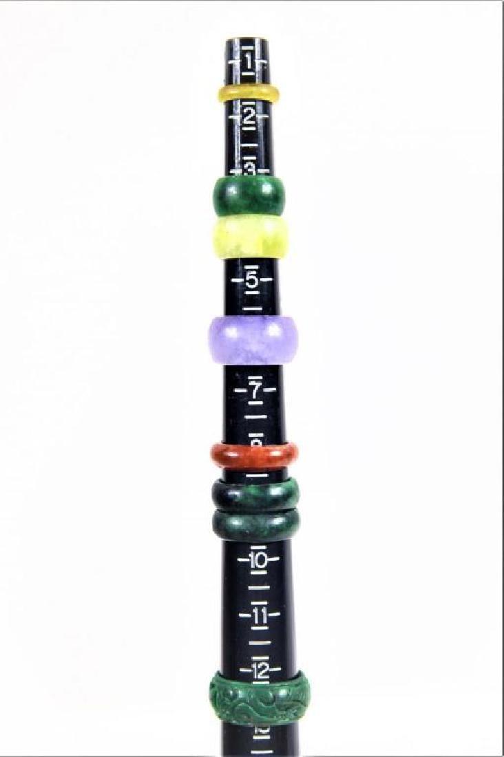 (8) Colored Mini Stone Rings - 2