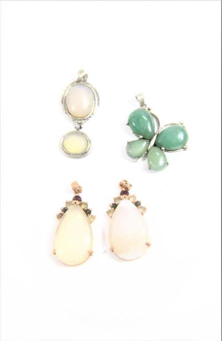 (4) Jewelry Pendants