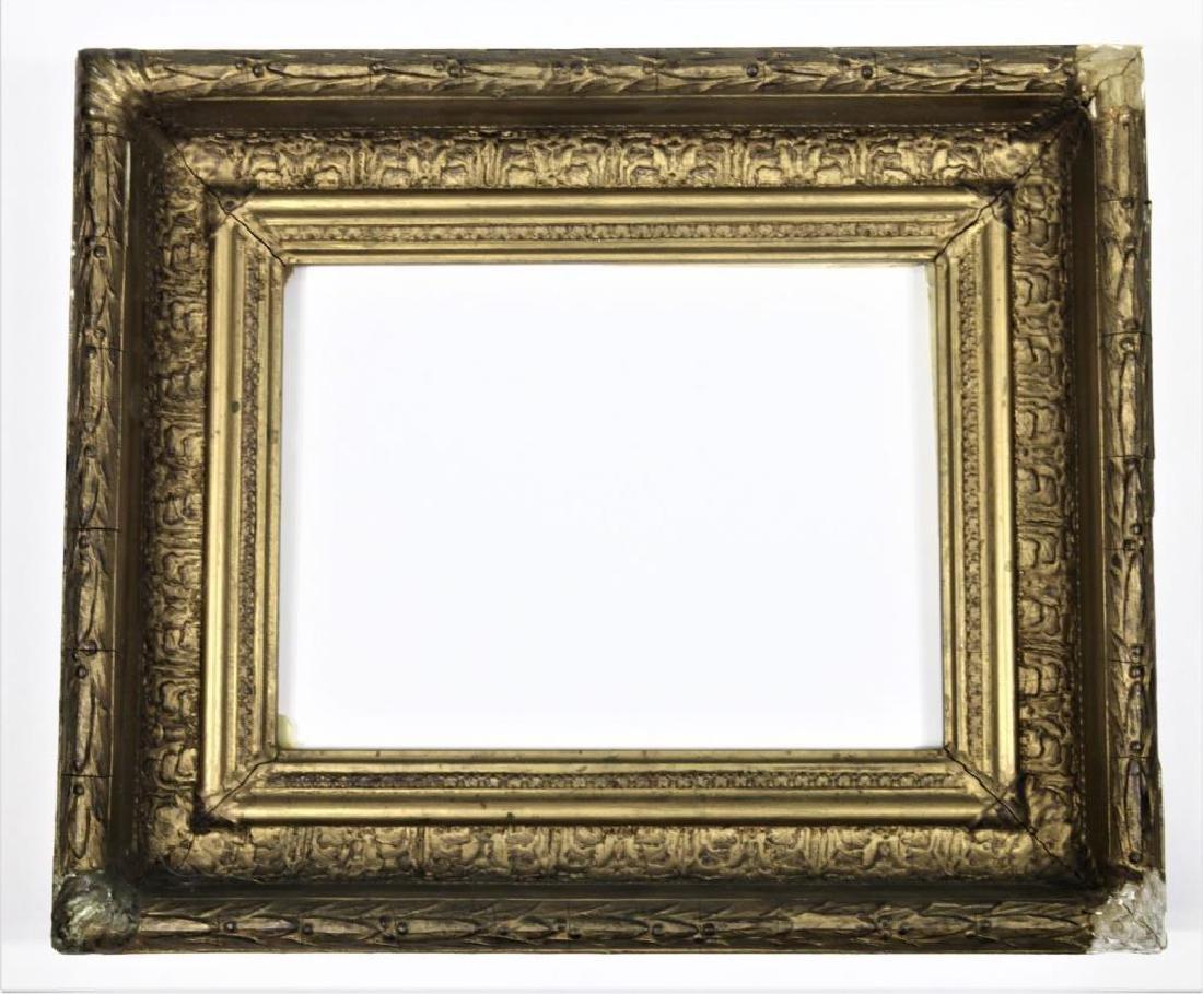 19th C. Carved Gilt Wooden Frame