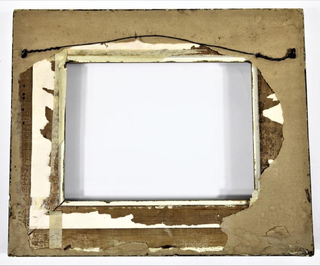 19th C. Carved Gilt Wooden Frame - 2