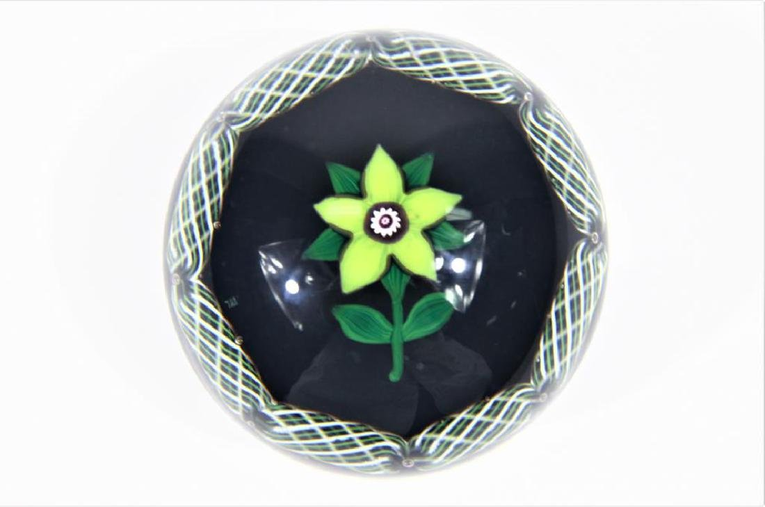 Selkirk paperweight, Clematis blossom