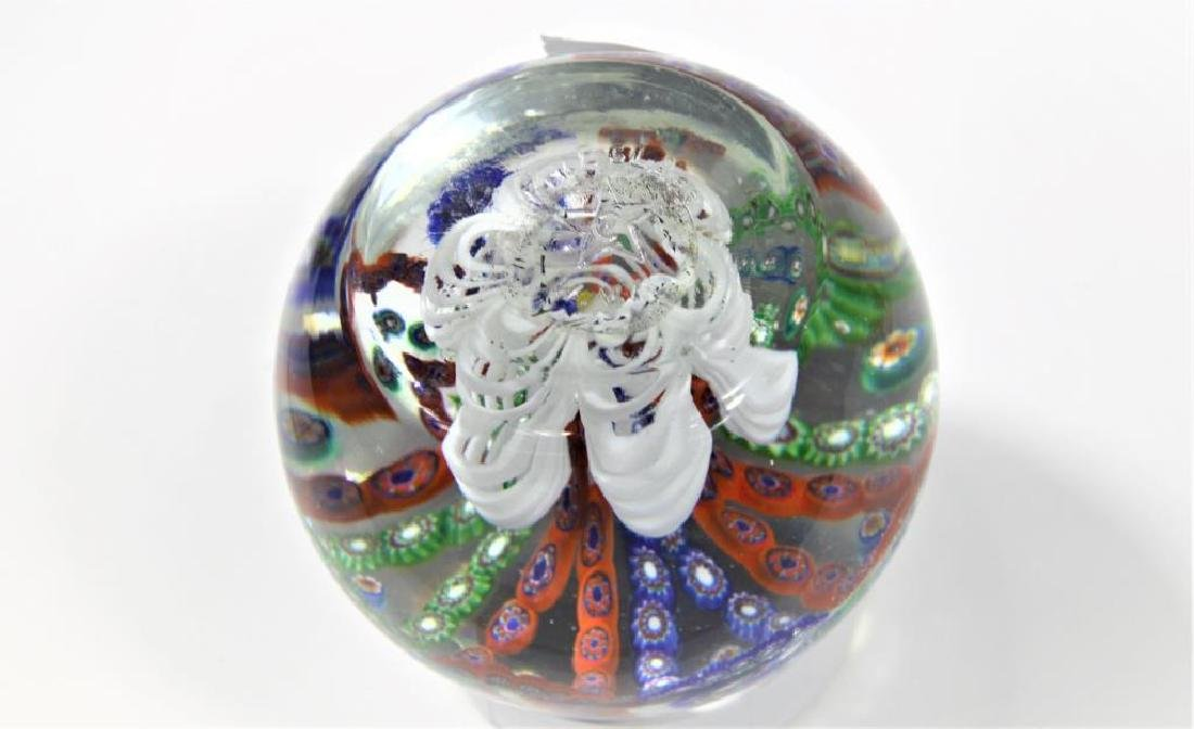 Four (4) Gentile Glass paperweights - 3