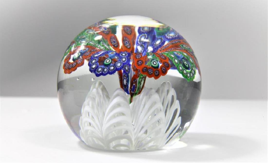 Four (4) Gentile Glass paperweights - 4