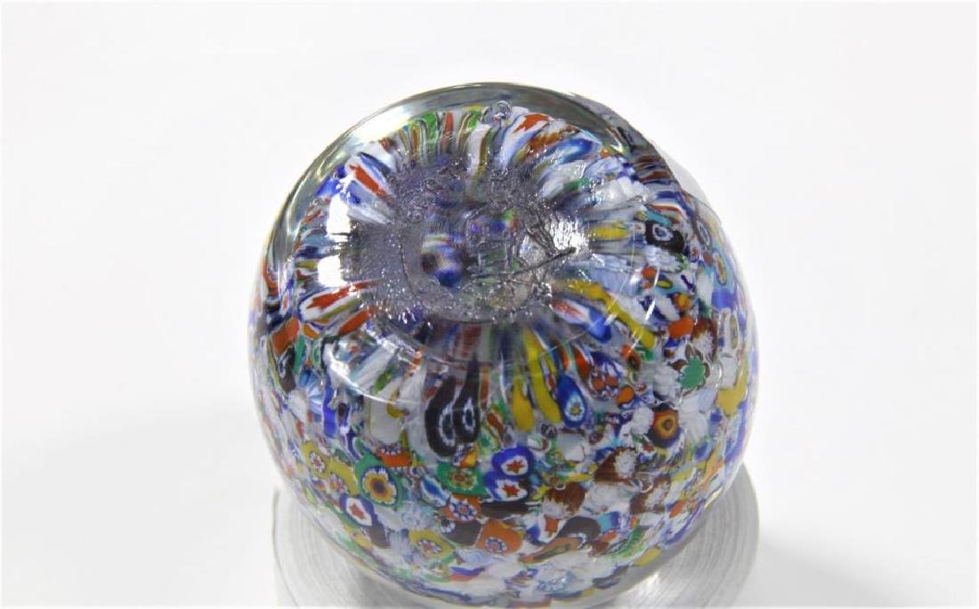 Four (4) Gentile Glass paperweights - 5