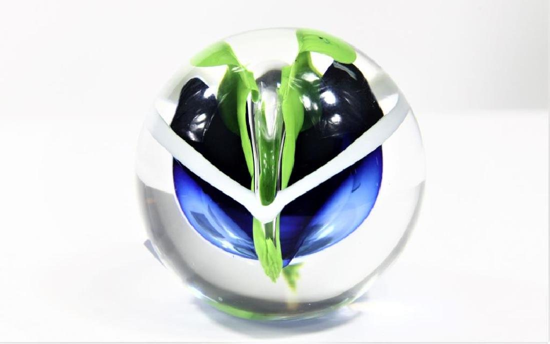 Five (5) paperweights - 5