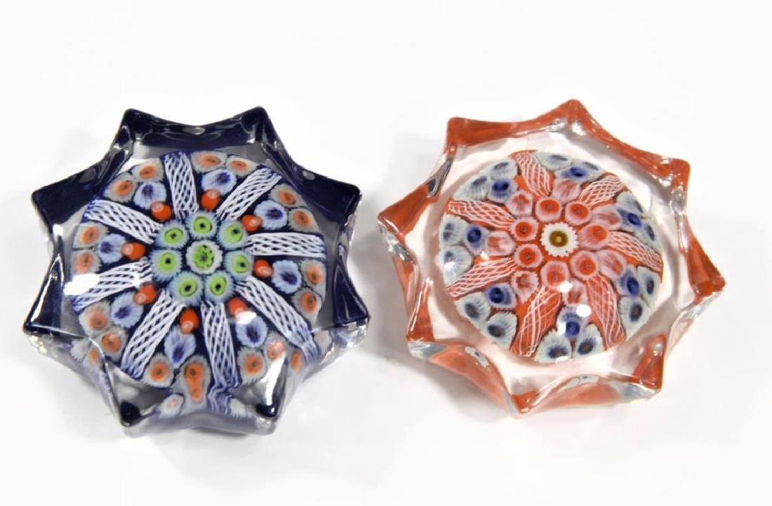 Two (2) paperweights - 8
