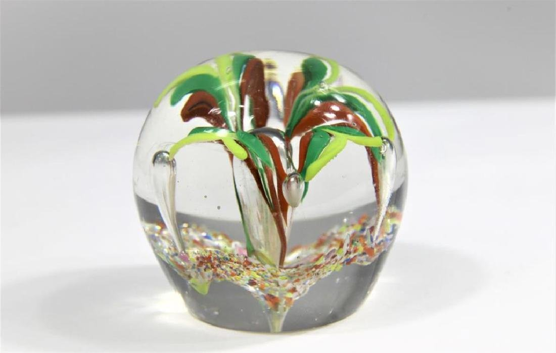Five (5) paperweights - 10