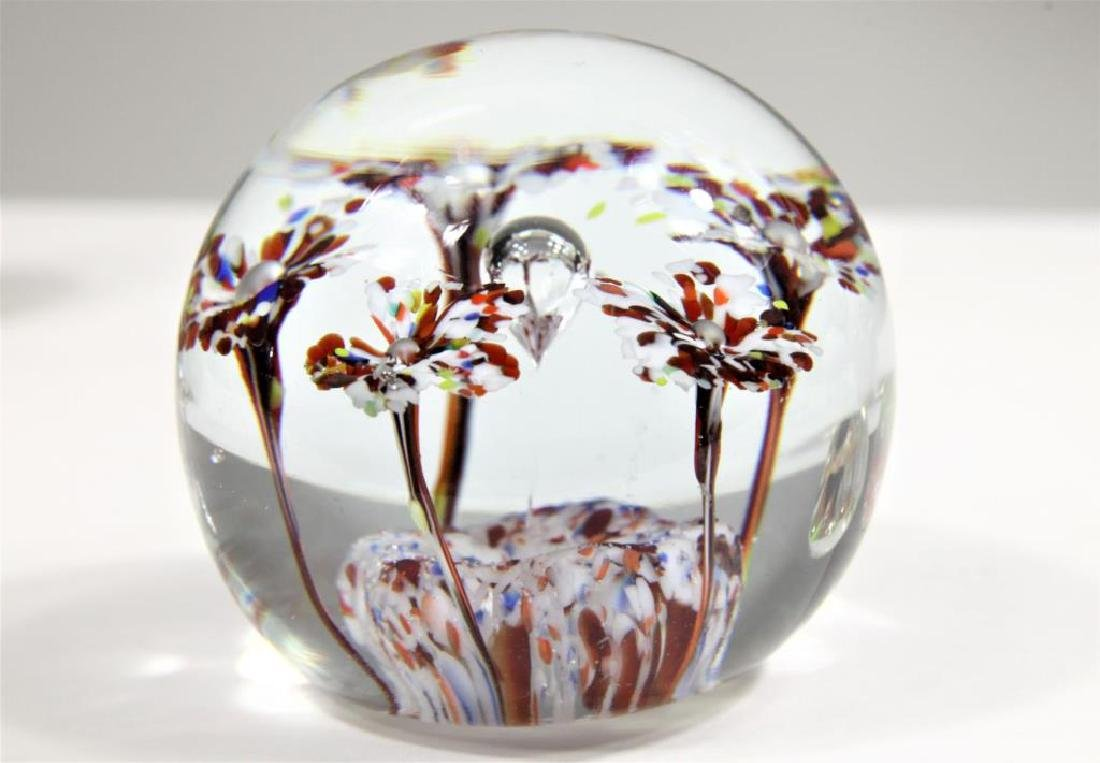 Five (5) paperweights - 4