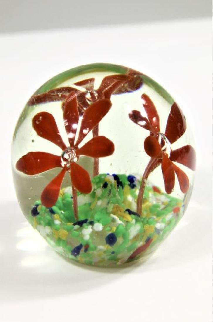 Five (5) paperweights - 6