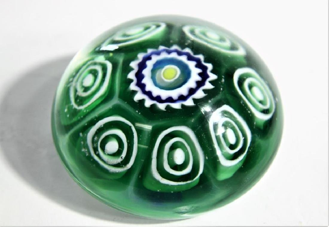 Five (5) Murano-style paperweights - 5