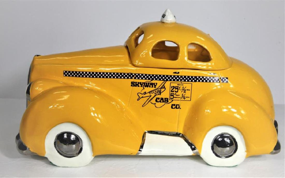 Skyway Cab Co Porcelain Container