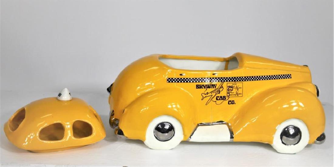 Skyway Cab Co Porcelain Container - 2