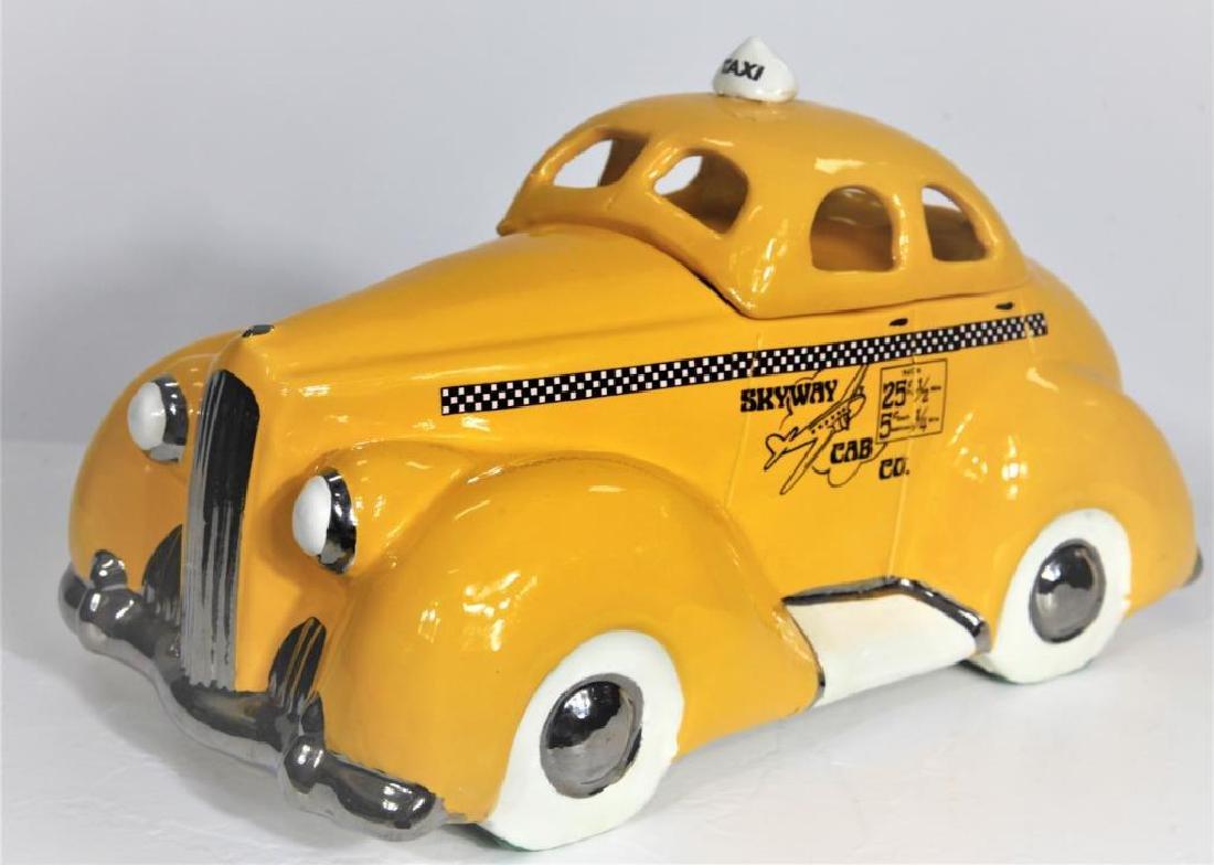 Skyway Cab Co Porcelain Container - 3