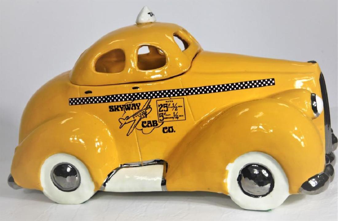 Skyway Cab Co Porcelain Container - 4