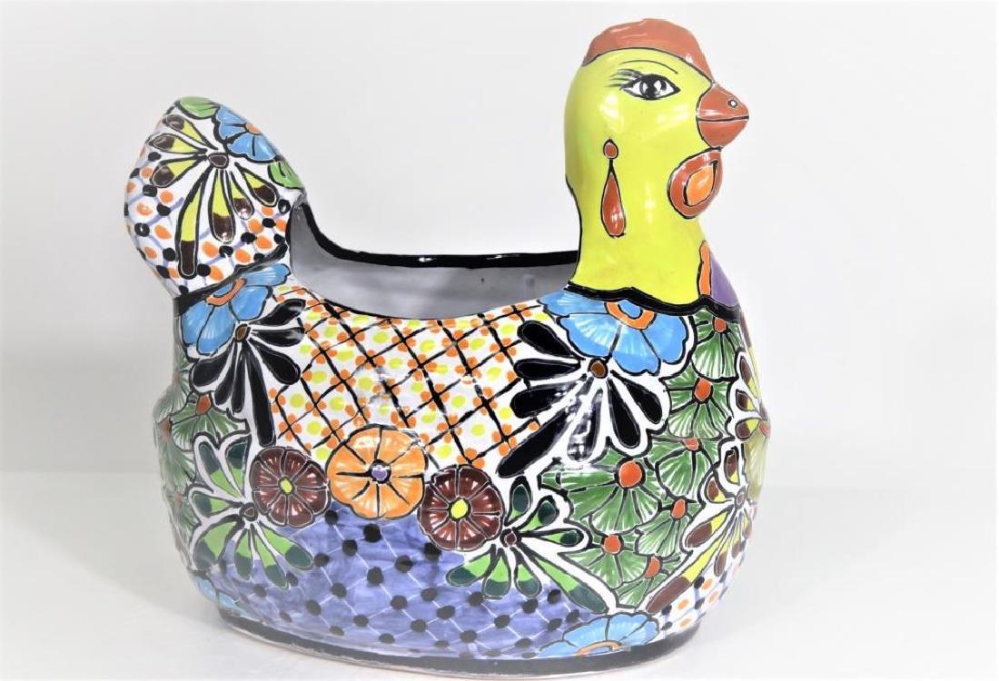 Ceramic Hen Shaped Bowl