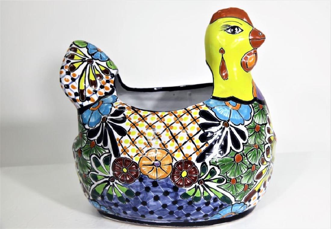 Ceramic Hen Shaped Bowl - 2