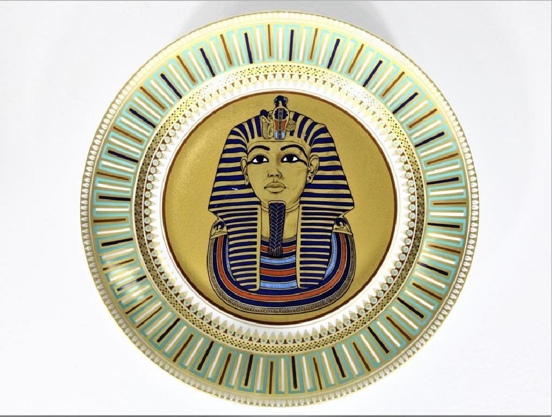 Kaiser Porcelain Plate of King Tut-ankh-amun
