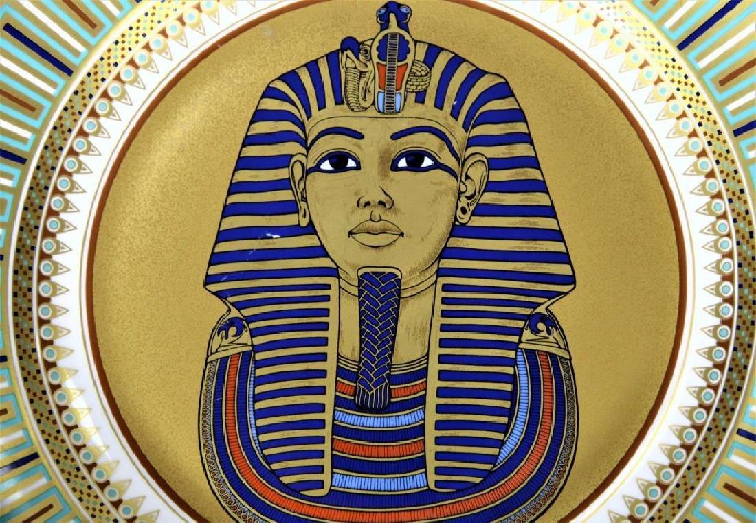 Kaiser Porcelain Plate of King Tut-ankh-amun - 2